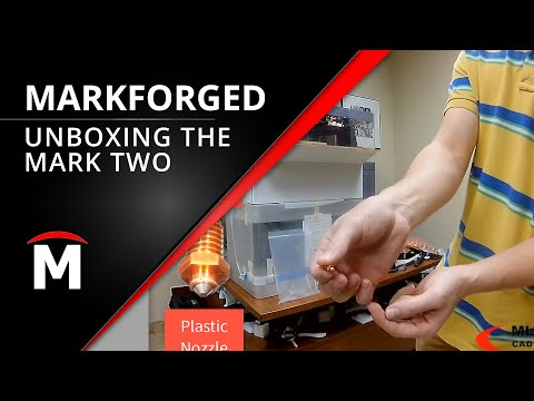 Markforged Mark Two Unboxing