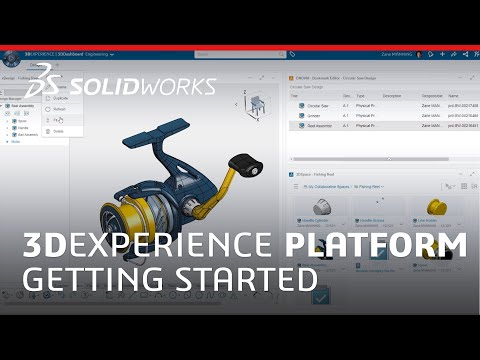 3DEXPERIENCE Platform - Getting Started - SOLIDWORKS