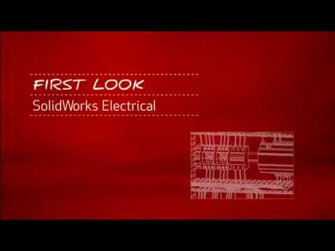 First Look at SOLIDWORKS 2D Electrical Schematics