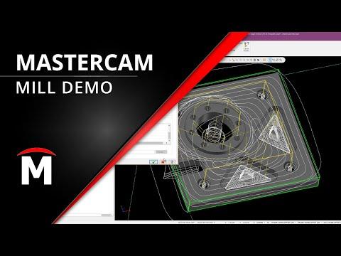 Mastercam Mill Demo