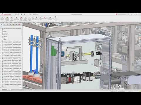 SOLIDWORKS Electrical for Industrial Equipment