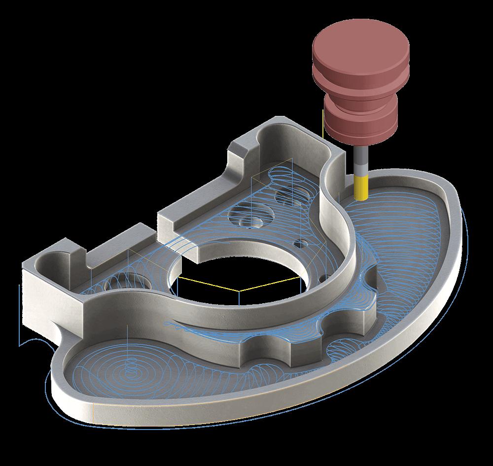 Mastercam Mill 2D Machining