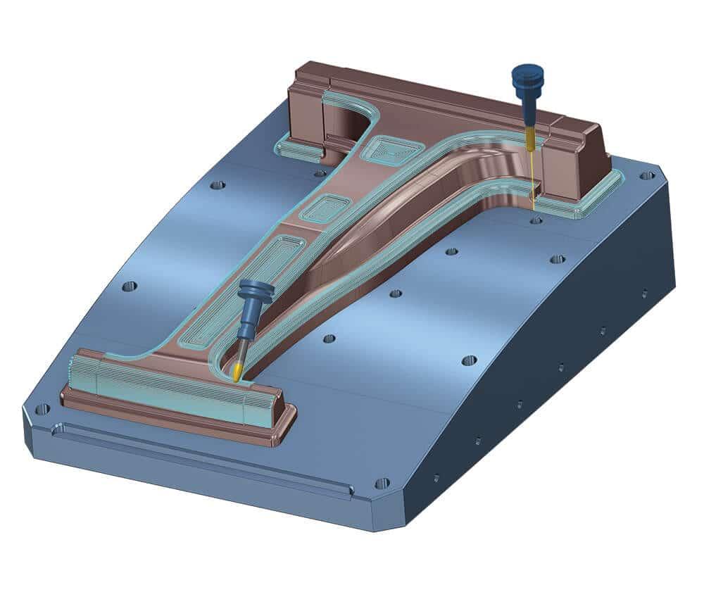 Mastercam Mill 3-D Machining
