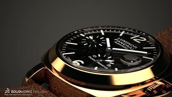 SOLIDWORKS Visualize - Wristwatch