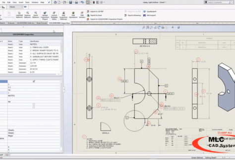 editing balloons in SOLIDWORKS inspection