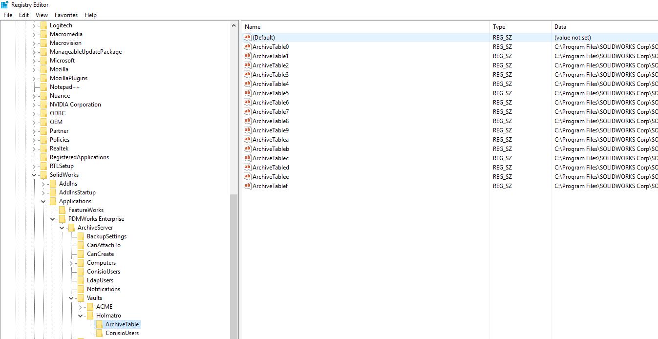 file storage location