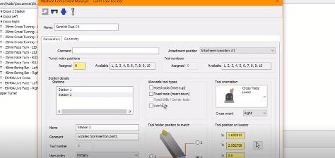 configuring mastercam tool locators