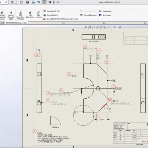 SOLIDWORKS Inspection Drawing Zones