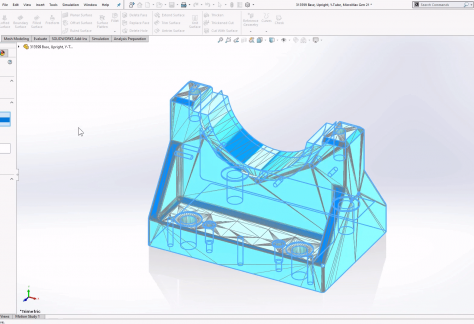 Direct Mesh Editing SOLIDWORKS 2020