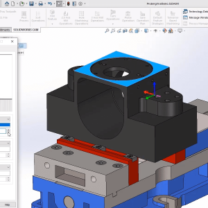 SOLIDWORKS CAM Probing - New in SOLIDWORKS 2020