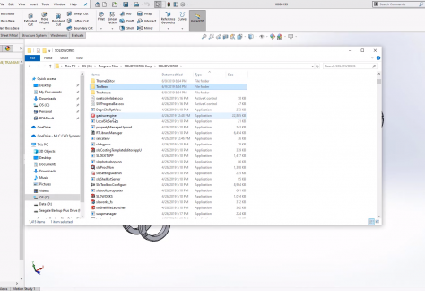 Manually Update the SOLIDWORKS Toolbox