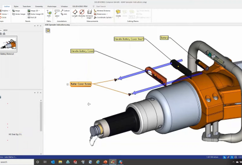 Re-Use 3D Data for Manuals SOLIDWORKS Composer
