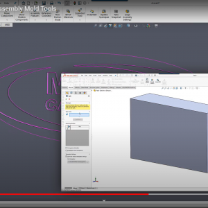 Assembly Mold Tools in SOLIDWORKS