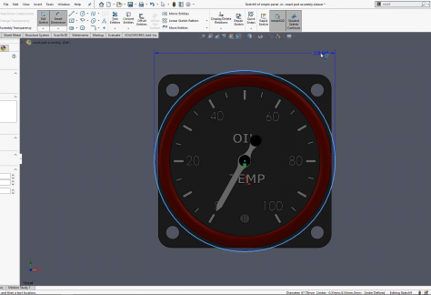 Automating Cutouts and Hardware with Smart Components in SOLIDWORKS
