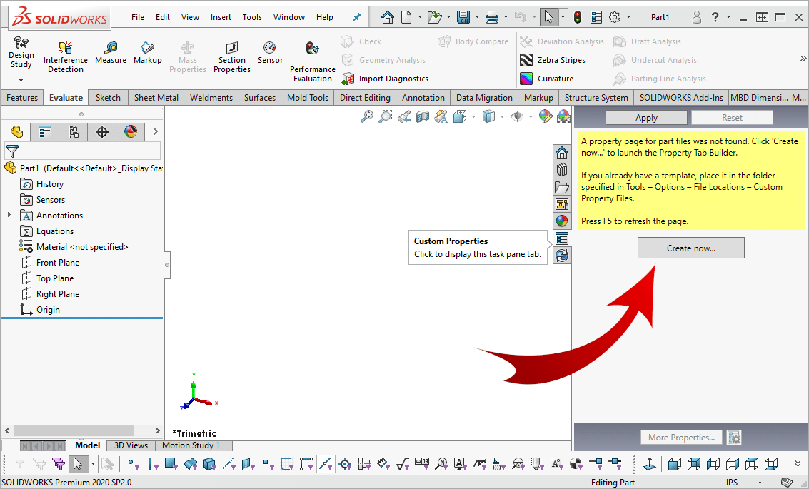 Create Custom Properties