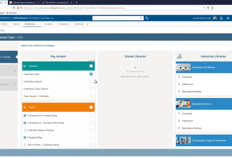 NETVIBES Business Intelligence capabilities on the 3DEXPERIENCE Platform