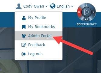 my.solidworks admin portal