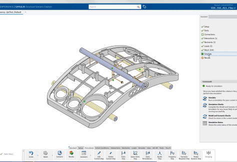 3DEXPERIENCE Simulation Tools Overview