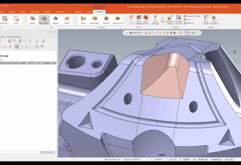 Mastercam 2021 High Speed Toolpaths