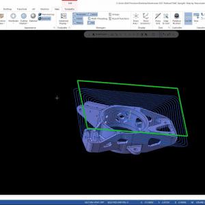 Mastercam 2021 corner dynamic toolpath