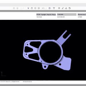 Mastercam 2021 3D PDF Export