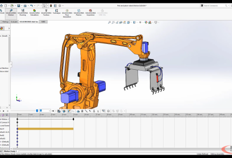 SOLIDWORKS Motion Series #2 - Study Types