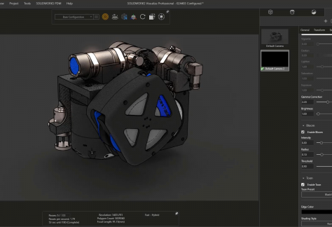 What's New in SOLIDWORKS 2021 Visualize