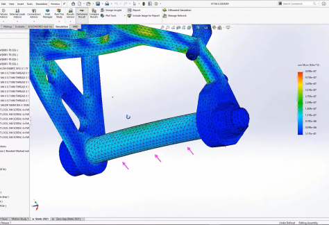What's New in SOLIDWORKS Simulation 2021