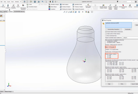 Keep Your Balance with SOLIDWORKS Design and Analysis Tools