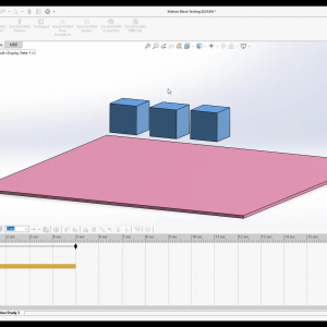SOLIDWORKS Motion Tutorial Series 6 How to use Basic Motion
