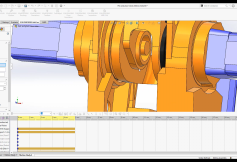 SOLIDWORKS Motion Tutorial Series 7 Motion Analysis