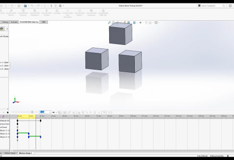 SOLIDWORKS Motion Tutorial Series Creating Animations