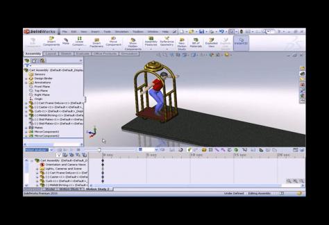 MLC Vintage - Motion Simulation - Luggage Cart Series