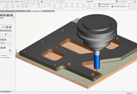 Whats New SOLIDWORKS CAM 2021