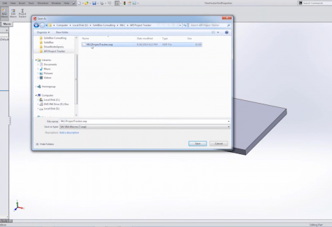Getting Started with SOLIDWORKS API Project Time Tracker