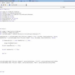 SOLIDWORKS API Tutorial - Project Time Tracker - Conditional Statements
